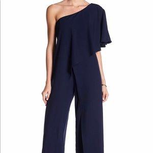 NEW ! MARINA | one shoulder jumpsuit • 12/14